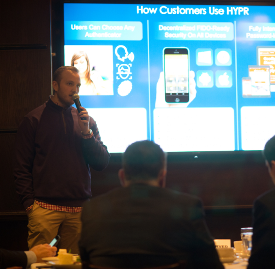 Image for HYPR-Secure Biometric Banking Demonstrated at BNP Paribas Personal Finance Luncheon