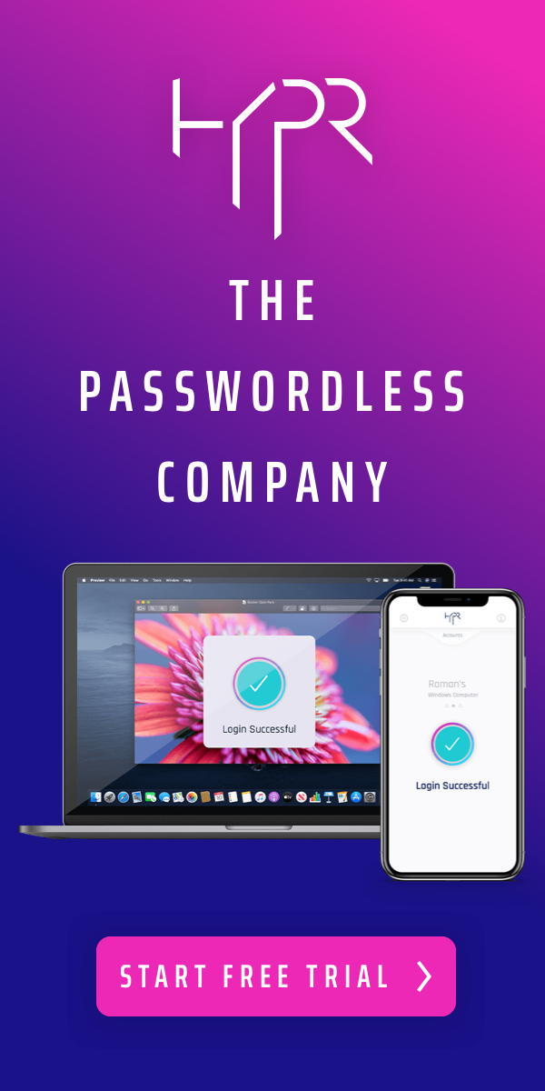 The Passwordless Company Banner
