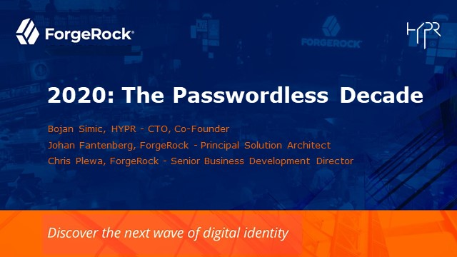ForgeRock Passwordless MFA