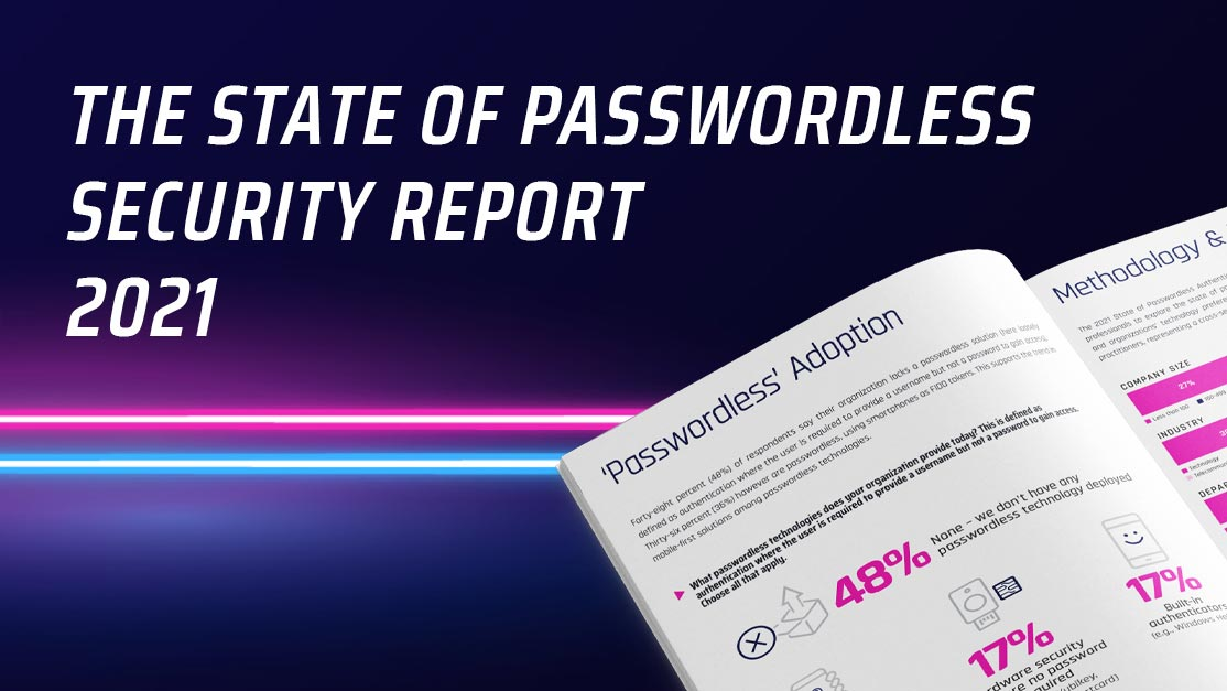 Image for Report: Adoption of Passwordless Security Takes Off Amid COVID-19