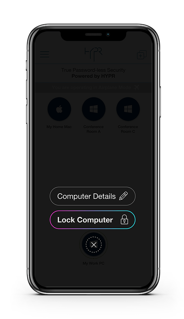 Passwordless Remote Lock