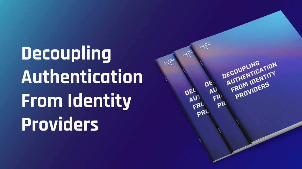 Decoupling Authentication from Identity Providers