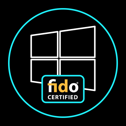 Fido Windows Passwordless Icon