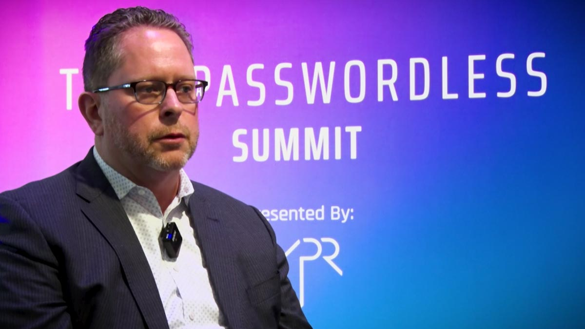 Mike Towers Takeda CISO Passwordless MFA