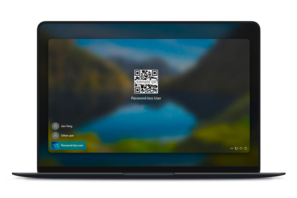 Passwordless VDI QR Login