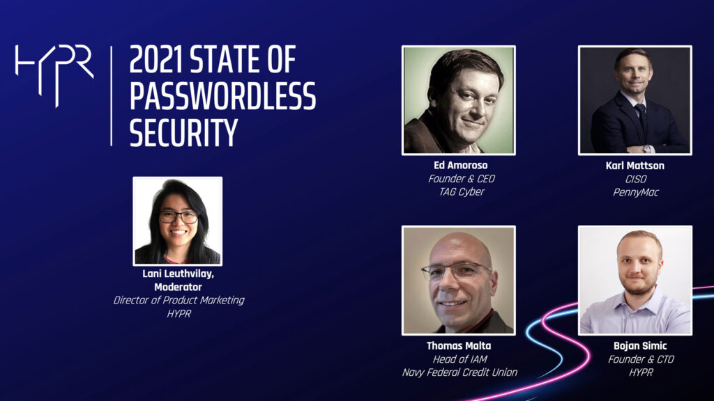 The State of Passwordless Security | Fireside Chat