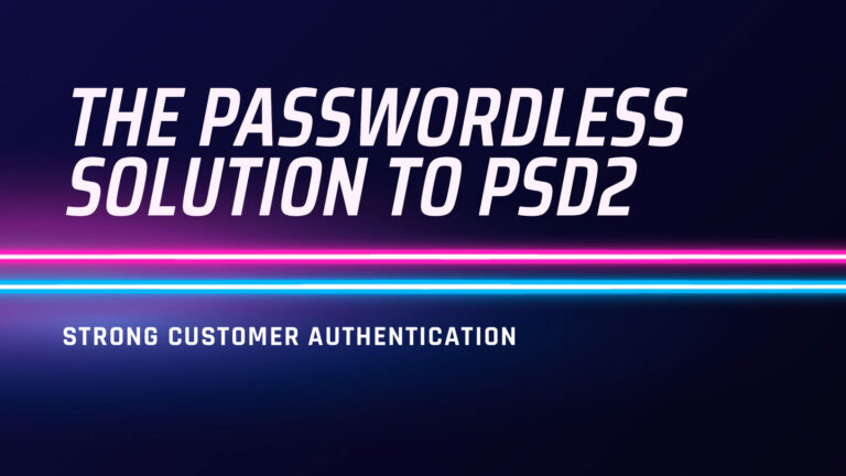 Strong Customer Authentication PSD2 Whitepaper