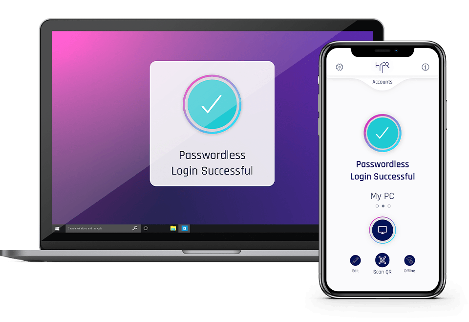 True Passwordless Authentication